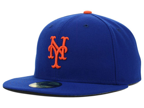 New York Mets New Era MLB Authentic Collection 59FIFTY Cap ...