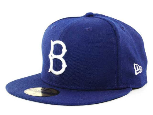 Brooklyn Dodgers New Era MLB Cooperstown 59FIFTY Cap Hats ...