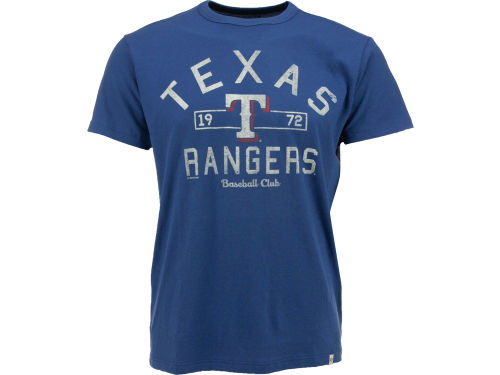 Texas Rangers '47 MLB Men's Flanker T-Shirt Apparel at Lids.ca
