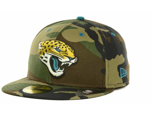 jacksonville jaguars new era nfl camo pop 59fifty cap hats. Black Bedroom Furniture Sets. Home Design Ideas