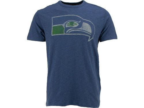 Seattle Seahawks 39 47 Nfl Retro Logo Scrum T Shirt Apparel
