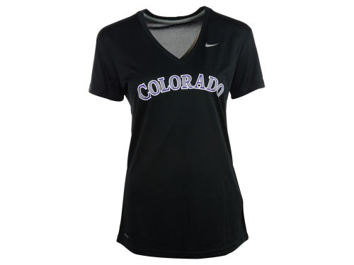 Colorado Rockies Nike Black Nike Mlb Women 39 S Dri Fit