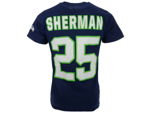 seattle seahawks navy richard sherman vf licensed sports. Black Bedroom Furniture Sets. Home Design Ideas