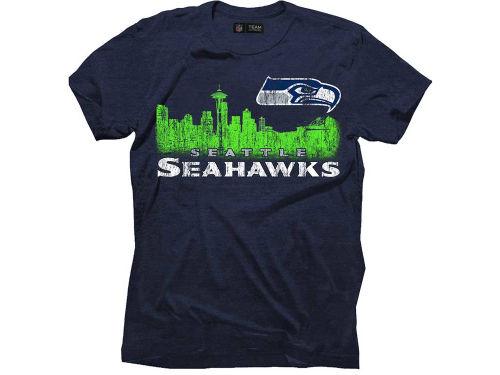 Seattle Seahawks Nfl Skyline Triblend T Shirt Apparel At