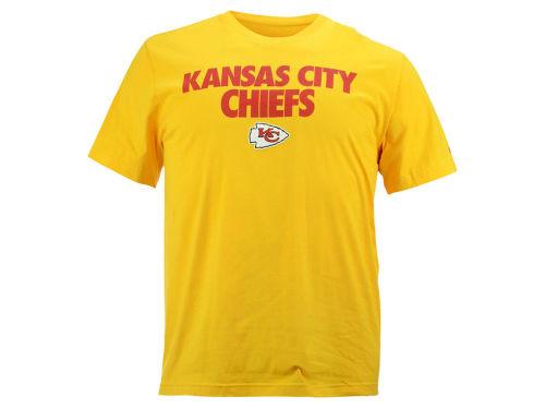 Kansas city chiefs white nfl men 39 s foundation t shirt for Kansas city chiefs tee shirts