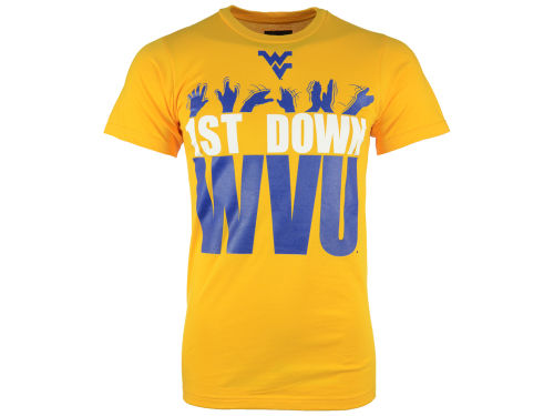 west virginia mountaineers yellow vf licensed sports group. Black Bedroom Furniture Sets. Home Design Ideas