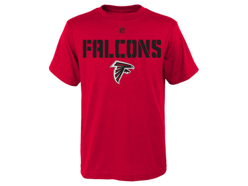 Atlanta Falcons Red Outerstuff Nfl Youth Squadron T Shirt