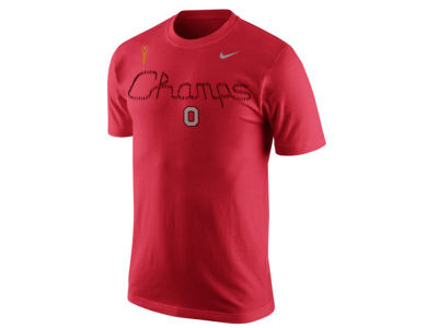 Nike ncaa ncg script champs t shirt apparel at for Ohio state polo shirt 3xl