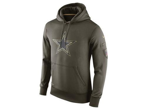 Dallas Cowboys Nike Nfl Men S Salute To Service Ko Hoodie