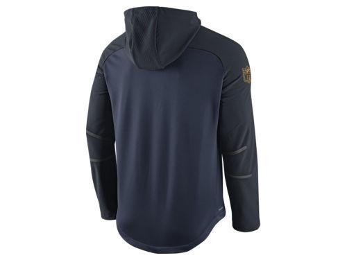Men's Denver Broncos Pro Line Black Gold Collection Pullover Hoodie