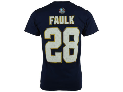 st louis rams navy marshall faulk vf licensed sports. Black Bedroom Furniture Sets. Home Design Ideas