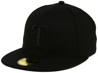 Texas Rangers New Era Black on Black Fashion images, details and specs