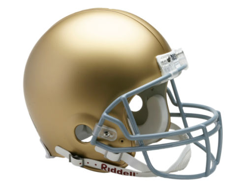 Notre Dame Fighting Irish Riddell NCAA Mini Helmet