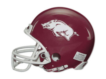 Arkansas Razorbacks Riddell NCAA Mini Helmet images, details and specs