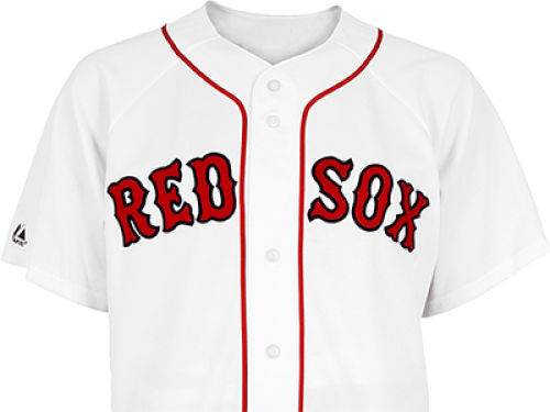 Boston Red Sox Majestic MLB Blank Replica Jersey