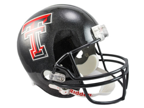 Texas Tech Red Raiders Riddell NCAA Deluxe Replica Helmet