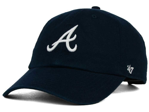 Atlanta Braves MLB On-Field Replica '47 CLEAN UP Cap Hats
