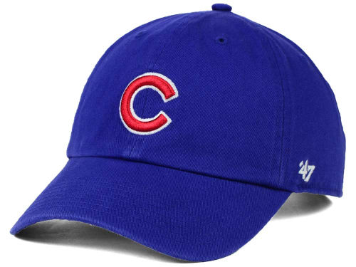 Chicago Cubs MLB On-Field Replica '47 CLEAN UP Cap Hats