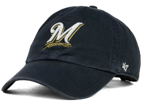 Milwaukee Brewers MLB On-Field Replica '47 CLEAN UP Cap Hats