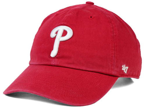 Philadelphia Phillies MLB On-Field Replica '47 CLEAN UP Cap Hats