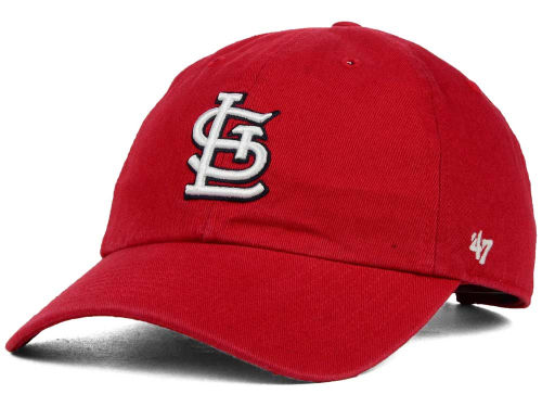 St. Louis Cardinals MLB On-Field Replica '47 CLEAN UP Cap Hats