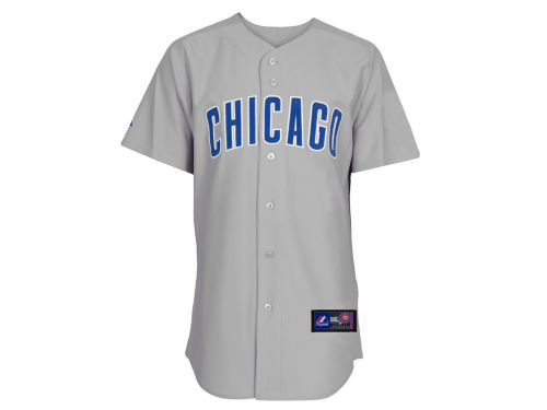 Chicago Cubs Majestic MLB Blank Replica Jersey