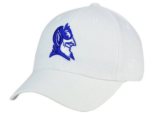 Duke Blue Devils Top of the World NCAA White PC Cap Hats