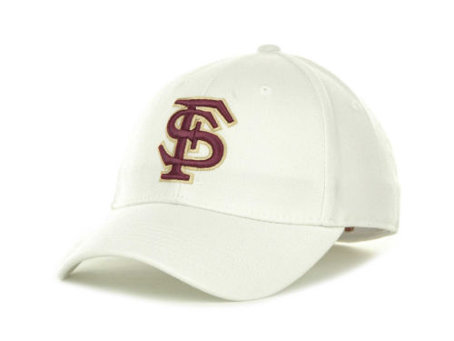Florida State Seminoles Top of the World NCAA White PC Cap Hats