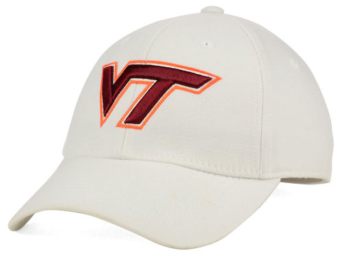 Virginia Tech Hokies Top of the World NCAA White PC Cap Hats