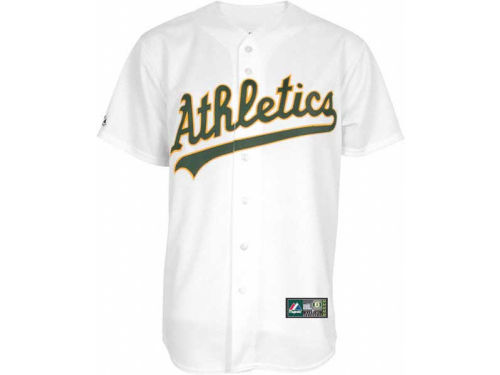 Oakland Athletics Majestic MLB Blank Replica Jersey