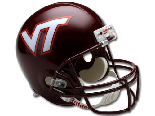 Virginia Tech Hokies Riddell NCAA Deluxe Replica Helmet
