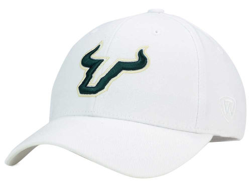 South Florida Bulls Top of the World NCAA White PC Cap Hats