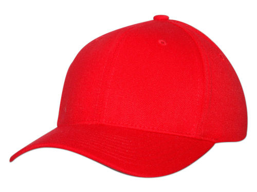 Red Home Run Flexfit  Hats