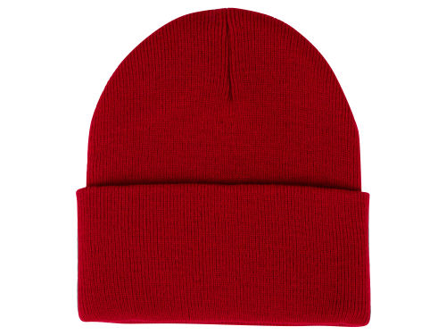 Red Curveball Knit  Hats