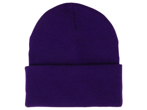 Purple Curveball Knit  Hats