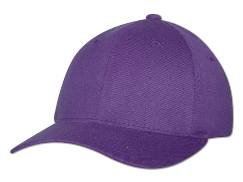 Purple Home Run Flexfit  Hats