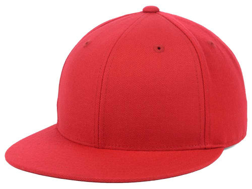 Red Grand Slam Fitted  Hats