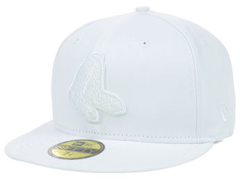 New Era White on White Fashion Caps