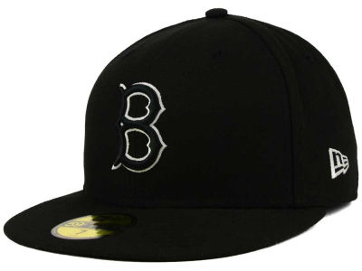 Brooklyn Dodgers MLB Black and White Fashion 59FIFTY Hats
