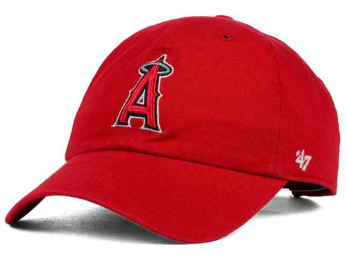 Los Angeles Angels of Anaheim MLB On-Field Replica '47 CLEAN UP Cap Hats