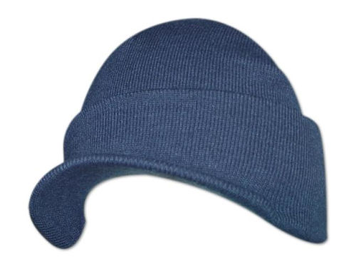 Navy Billed Knit  Hats