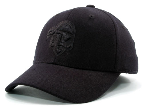 Seton Hall Pirates Top of the World NCAA Black on Black Tonal Hats