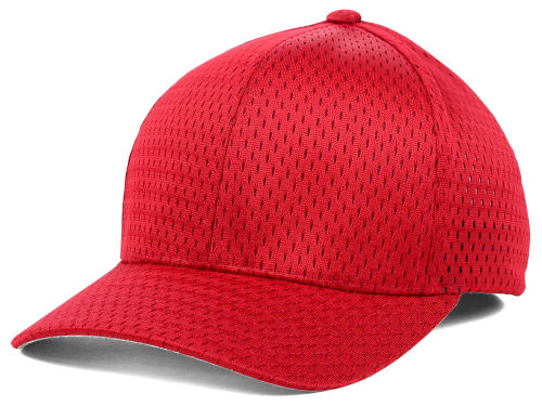 Red Athletic Mesh  Hats