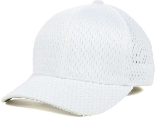 White Athletic Mesh  Hats