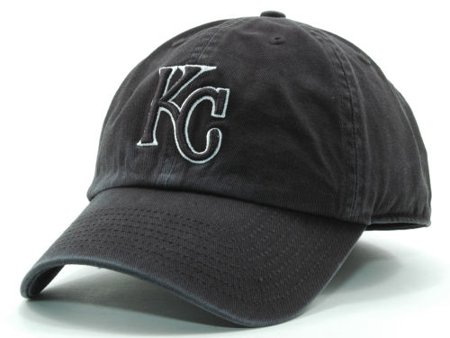 Kansas City Royals '47 Brand MLB Black White Black Franchise Hats