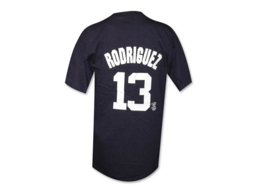New York Yankees Alex Rodriguez Majestic MLB Youth Player T-Shirt