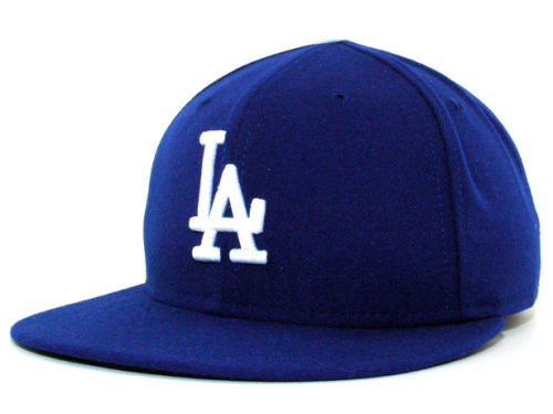 Los Angeles Dodgers New Era MLB Authentic Collection 59FIFTY Cap Hats