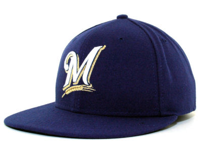 Milwaukee Brewers MLB Authentic Collection 59FIFTY Cap Hats