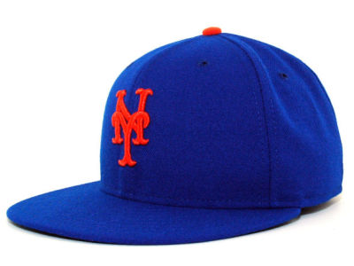 New York Mets MLB Authentic Collection 59FIFTY Hats