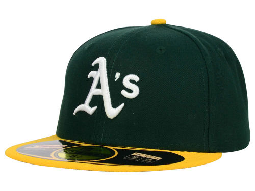 Oakland Athletics New Era MLB Authentic Collection 59FIFTY Cap Hats